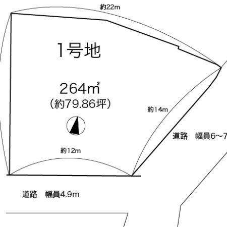 1号地区画図です